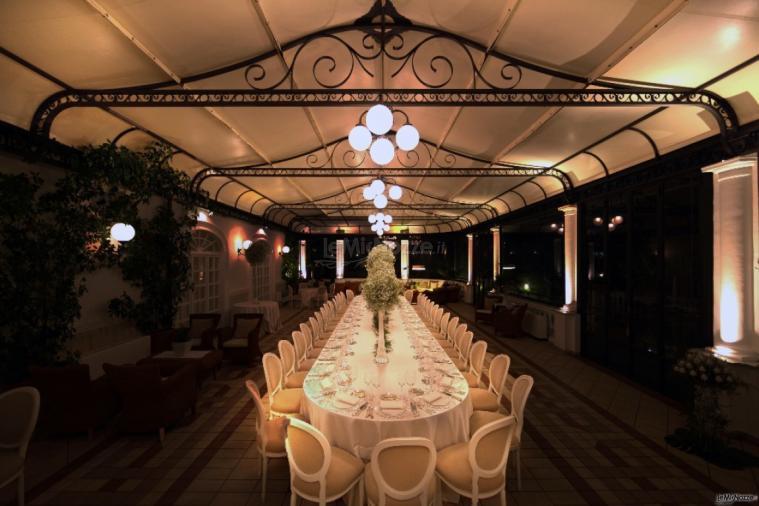 Tavolo Imperiale in veranda