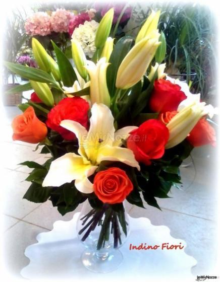 Indino Fiori - Mazzo di fiori lillium e rose
