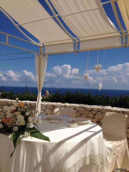 Cala dei Balcani - Il tavolo degli sposi