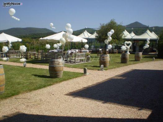 Foto 59 addobbi con palloncini palloncini per il for Addobbi piscina