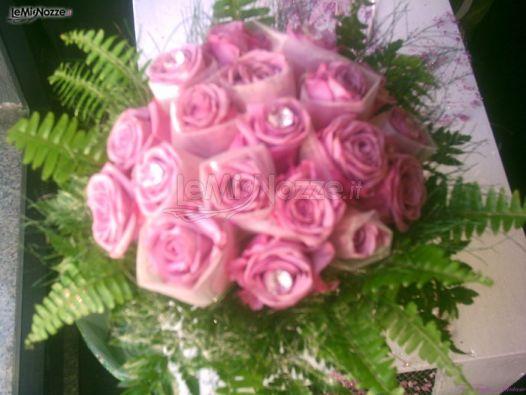Bouquet Sposa Con Swarovski.Foto 24 Bouquet Sposa Bouquet Con Organza E Swarovski