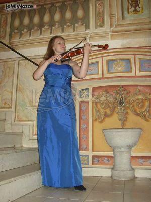 Musica di violino per le nozze