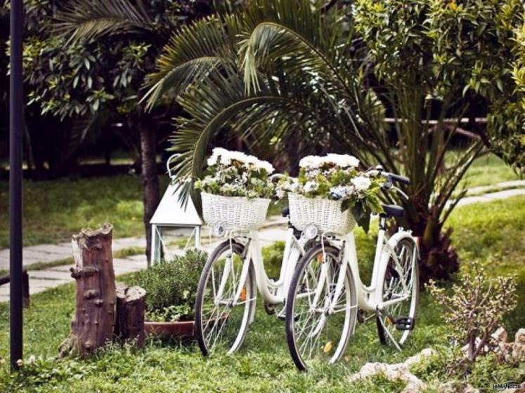 La Terra degli Aranci - Matrimonio shabby chic in bicicletta
