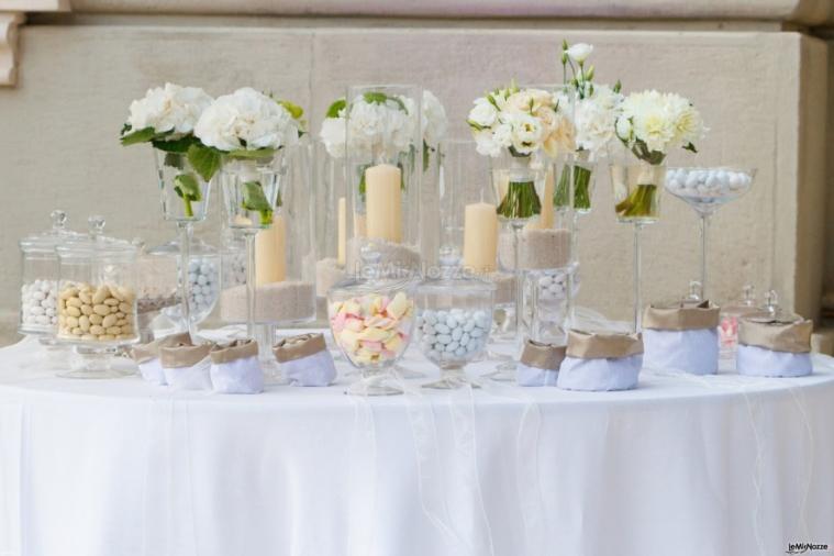 Matrimonio In Total White : Crystal organizzazione matrimonio total white