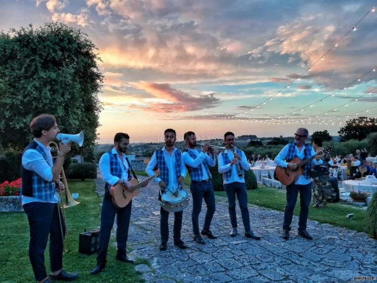Metamorphosis Wedding Band - Al tramonto