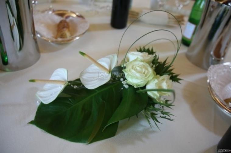 Nanda fiori addobbi floreali per matrimoni torino - Composizioni floreali per tavoli ...