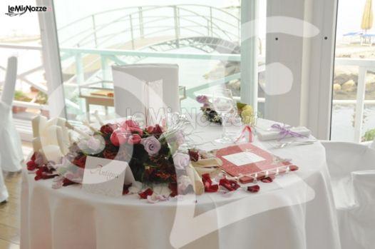 Tavolo degli sposi - Ghirigoro partecipazioni a Salerno