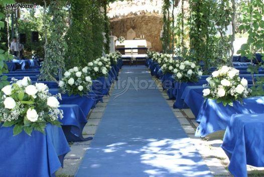 Foto 349 addobbi floreali chiesa e cerimonia for Addobbi per promessa di matrimonio