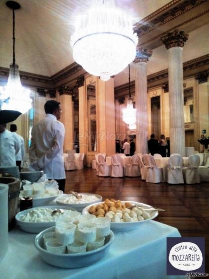 Centro della mozzarella catering