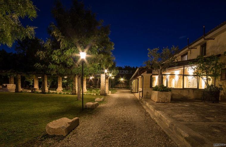 Masseria San Lorenzo - La location di sera