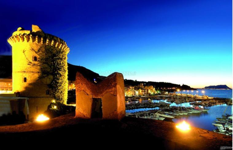Il Castello e la vista sul porto