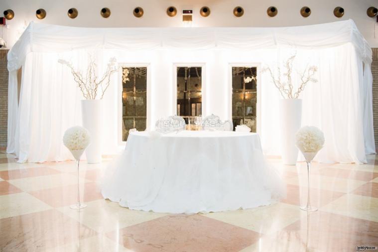 Grand Hotel Vigna Nocelli Ricevimenti - Il tavolo degli sposi