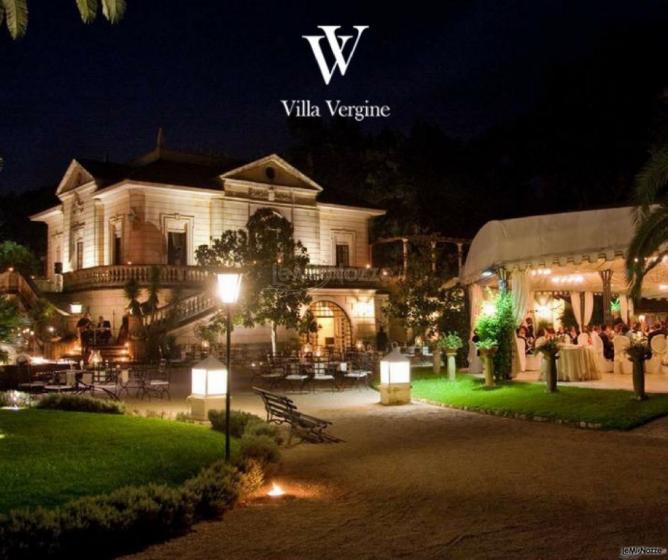 Villa Vergine - La villa di sera
