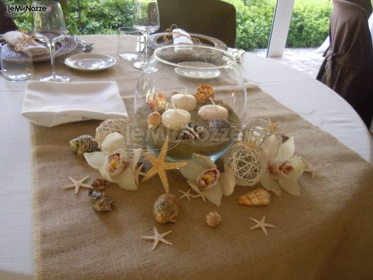 Mise En Place Tema Mare Paolella Catering Foto 1