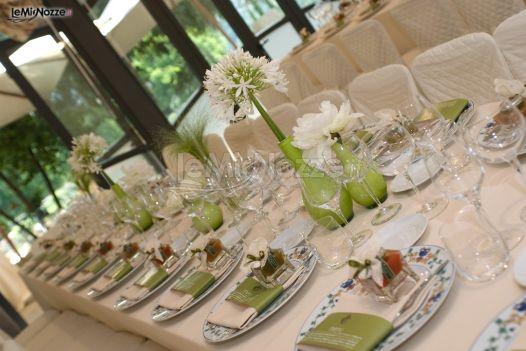 Tavolo imperiale per il matrimonio