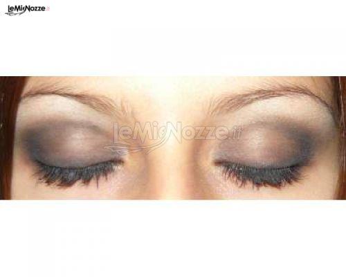 Make up occhi di Brenda Lazzara, truccatrice sposa a Mascalucia (Catania)