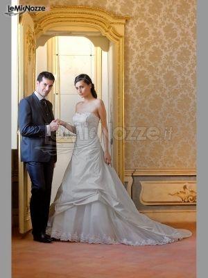 Abiti Da Sposa E Sposo.Foto 483 Abiti Da Sposa Classici Abito Da Sposa E Sposo A