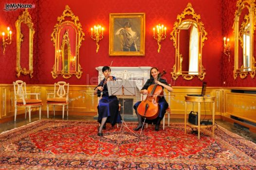 Violino e violoncello per le nozze
