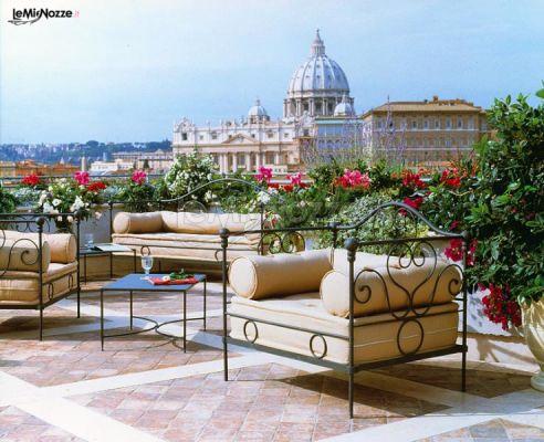 Terrazza Della Location Di Matrimonio Roof Garden