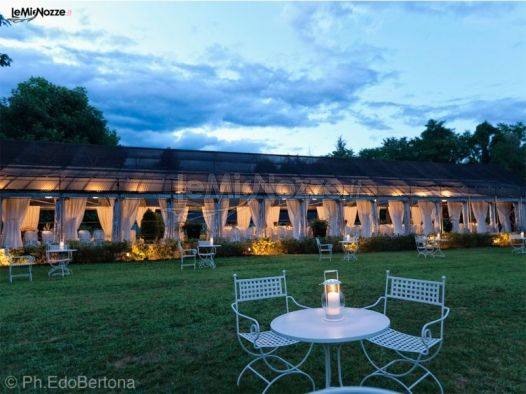 Matrimonio In Serra : Villa per matrimoni a novara jardin vivre