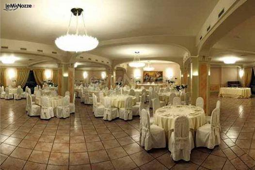Ricevimento di nozze in un ristorante