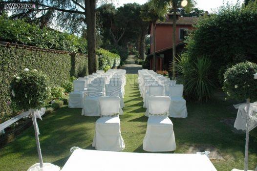 Celebrazione del matrimonio in giardino casali - Matrimonio in giardino ...