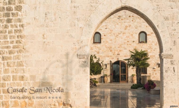 Casale San Nicola - l'entrata