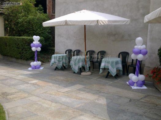 Foto 46 addobbi con palloncini palloncini per la casa della sposa - Addobbi matrimonio casa della sposa ...