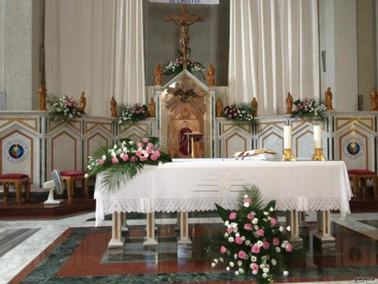Famoso Foto 565 - Addobbi floreali chiesa e cerimonia - Addobbi per QJ31