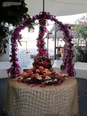 Le Pomelie - Allestimento per un matrimonio a tema mare