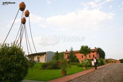 Ca\' La Ghironda museo d\'arte moderna per matrimoni a Zola Predosa (Bologna)