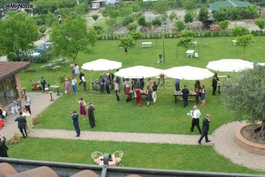 Ricevimento di matrimonio in giardino agriturismo ranza - Matrimonio in giardino ...