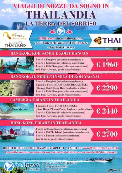 Offerte viaggi di nozze in Thailandia