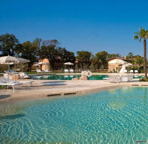 Chervò Golf Hotel &  Resort San Vigilio - La piscina all'aperto