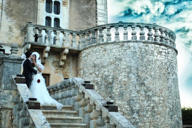 Michele Manicone Fotografia - Baciarsi al castello