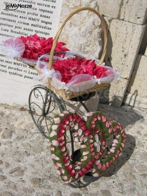 Foto 15 addobbi floreali location cesto porta petali - Cesti porta bomboniere matrimonio ...