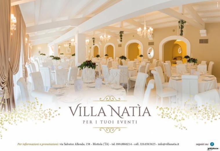 Villa Natìa - La sala interna