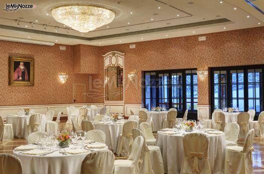 Salone delle Feste per il banchetto di matrimonio