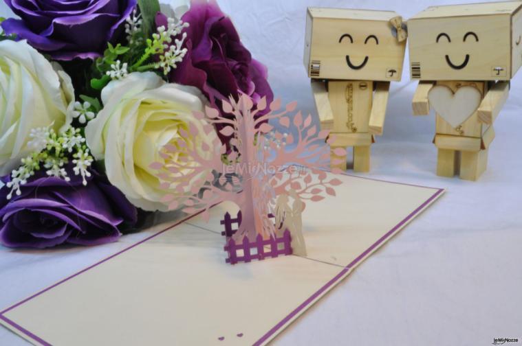 Partecipazioni Matrimonio Tridimensionali.Pop Up Italia Partecipazioni Nuziali Con Soggetti In 3d Pop Up