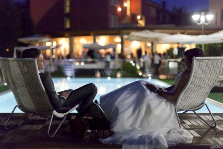 Ristorante Alla Veneziana - Un momento di relax per gli sposi