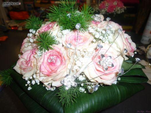 Bouquet Sposa Con Swarovski.Foto 149 Bouquet Sposa Bouquet Rose E Swarovski