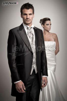 Abito da sposo e da sposa dell'Atelier Sposissimi&Co