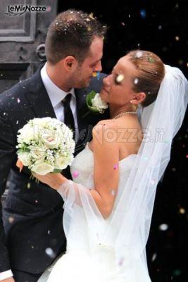 Sposi felici dopo il sì