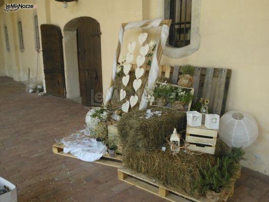 Matrimonio Country Chic Vicenza : Allestimento tableau shabby chic mondoincasa foto