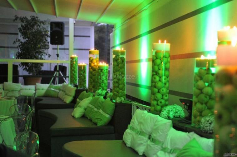 Virgilio Club - Allestimento con mele verdi per il matrimonio