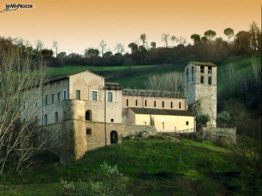 Matrimonio Ponzano Romano : Abbazia di sant andrea in flumine per il matrimonio a