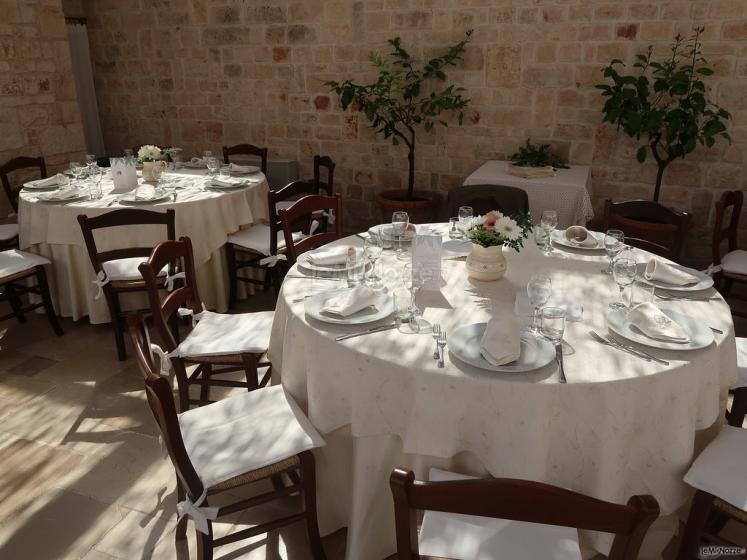 Masseria del Gelso Antico - Il tavolo per gli ospiti