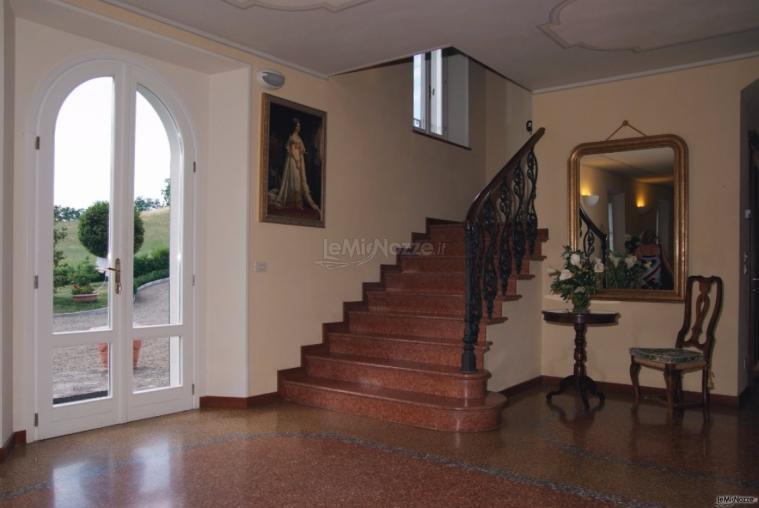 Villa Fabio - L'interno dell'ingresso