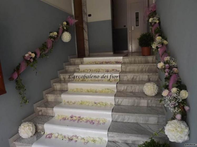 Foto 62 matrimonio in bianco addobbi floreali per l 39 uscita da casa della sposa - Addobbi matrimonio casa della sposa ...