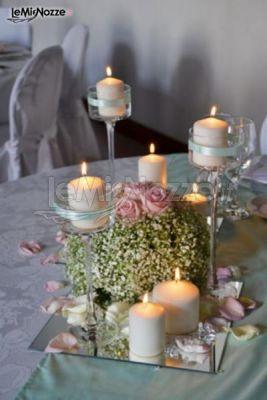 foto 89 centrotavola matrimonio centrotavola candele e